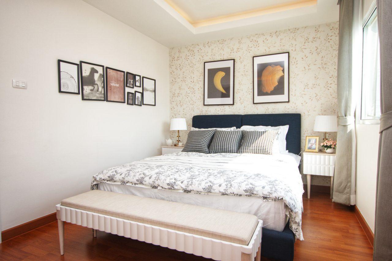Lalin Le Corbusier_ลลิล ห้องนอน